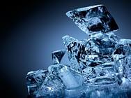 Block of ice.